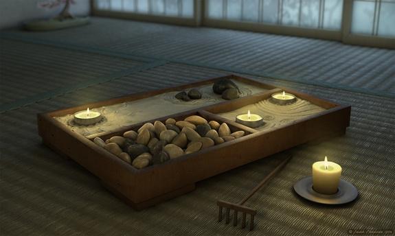 decorazioni zen